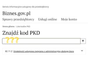 Jakie PKD dla wirtualnej asystentki?
