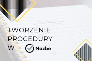 Tworzenie procedury w Nozbe