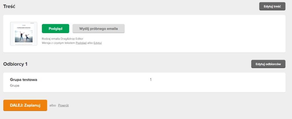 Jak zaplanować wysyłkę kampanii w Mailerlite?