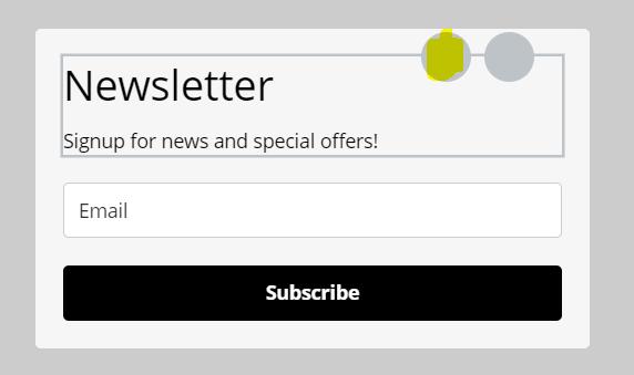 Formularz zapisu na newsletter, przykład - jak zacząć prowadzić newsletter?