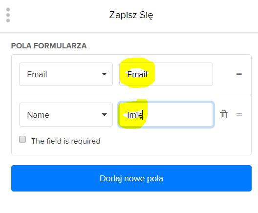 Ustawienia formularza zapisu do newslettera w Mailerlite - jak zacząć prowadzić newsletter?