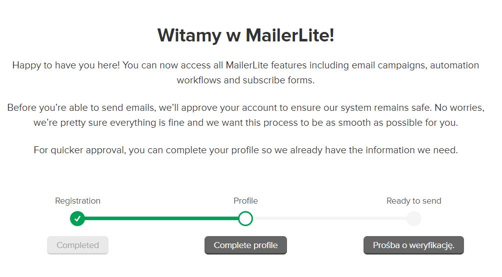 Jak założyć konto w Mailerlite? - jak zacząć prowadzić newsletter?