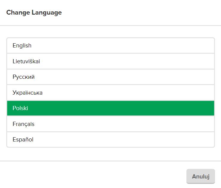 Jak zmienić język na polski w Mailerlite? - jak zacząć prowadzić newsletter?