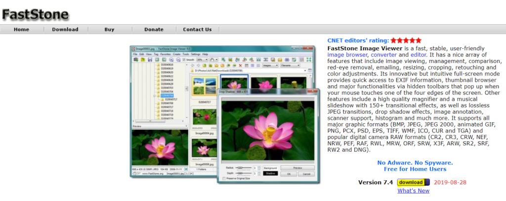 Jak ściągnąć FastStone Image Viewer zrzut ekranu