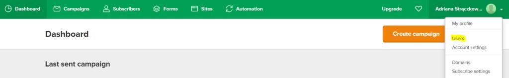 Tworzenie nowego użytkownika w Mailerlite - jak dać dostęp do Mailerlite wirtualnej asystentce?
