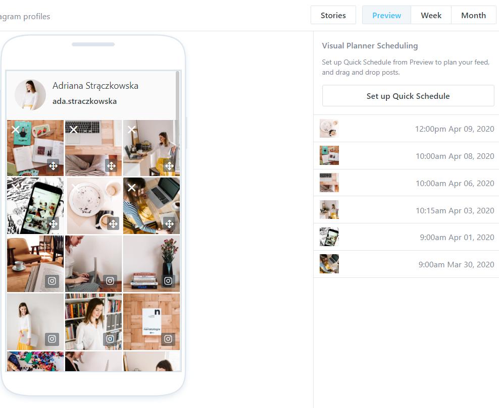 Jak planować posty na Instagram na komputerze? Na przykładzie Later.