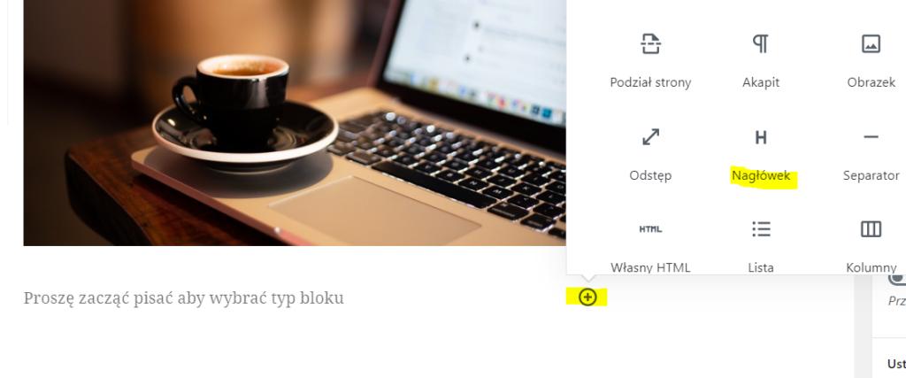 Jak dodać nagłówek w WordPressie?